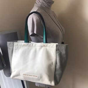 Marc Jacobs soft leather tote. New